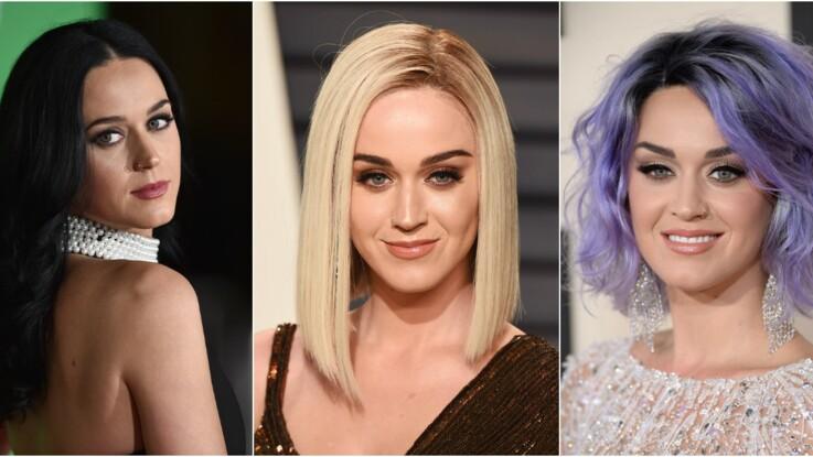 Katy Perry, la star qui ose toutes les colorations