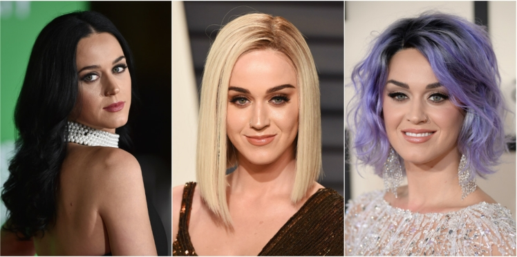 Katy Perry, la star qui ose toutes les colorations