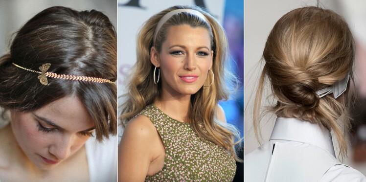 Headband  15 coiffures pour cheveux longs et courts