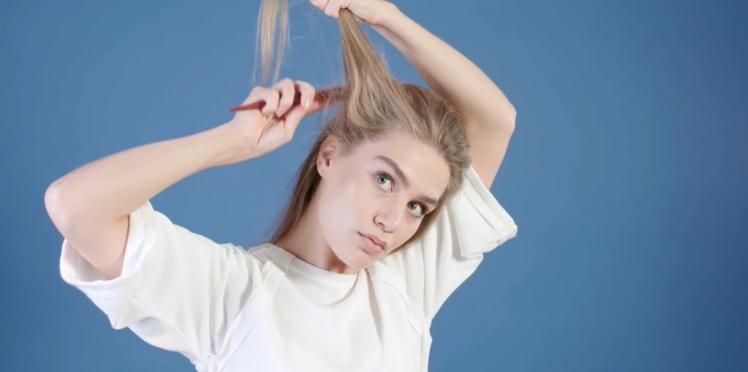 Tuto coiffure : les racines volumineuses (vidéo)