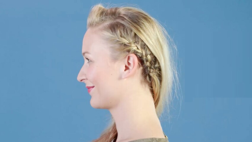 Tutoriel coiffure : le side hair tressé (vidéo)