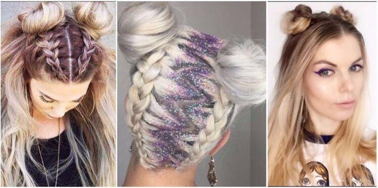 Tendance coiffures d'été : la folie des mini buns