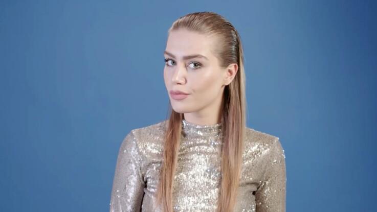 Tutoriel coiffure : l'effet plaqué (vidéo)