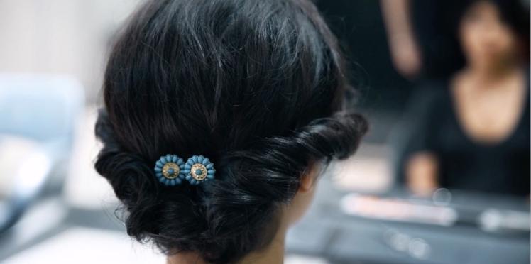 Vidéo : le chignon torsadé pour cheveux courts