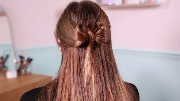 Vidéo : comment faire un nœud papillon dans ses cheveux ?