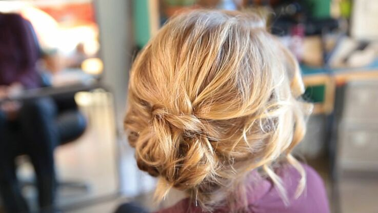 VIDEO – Le chignon bohème express