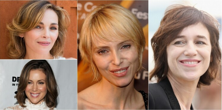 Femmes coupes de cheveux visage ovale 45 ans