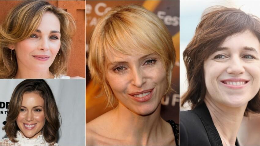 15 coiffures de stars pour rajeunir après 40 ans