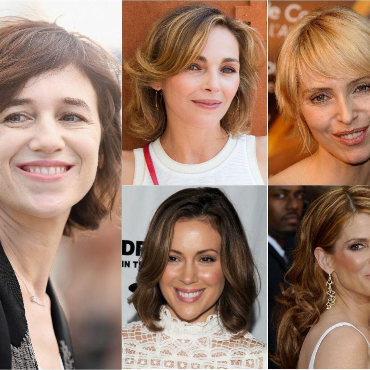 15 Coiffures De Stars Pour Rajeunir Apres 40 Ans Femme Actuelle Le Mag