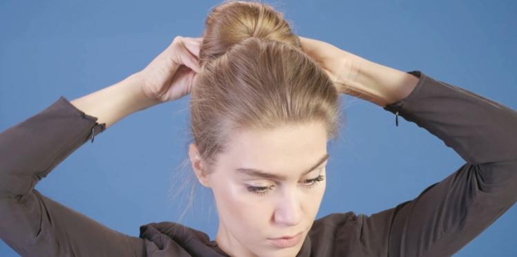 Tutoriel coiffure : le chignon éventail (vidéo)
