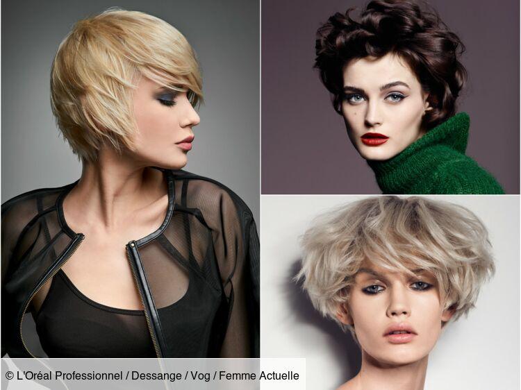 Morpho coiffure : quelle coupe courte pour mon visage ? : Femme Actuelle Le MAG