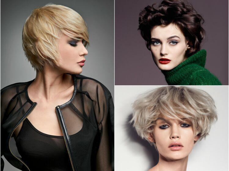 Coupe de cheveux courte visage rectangle