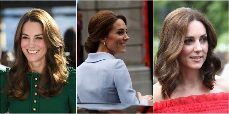 10 coiffures canons à piquer à Kate Middleton
