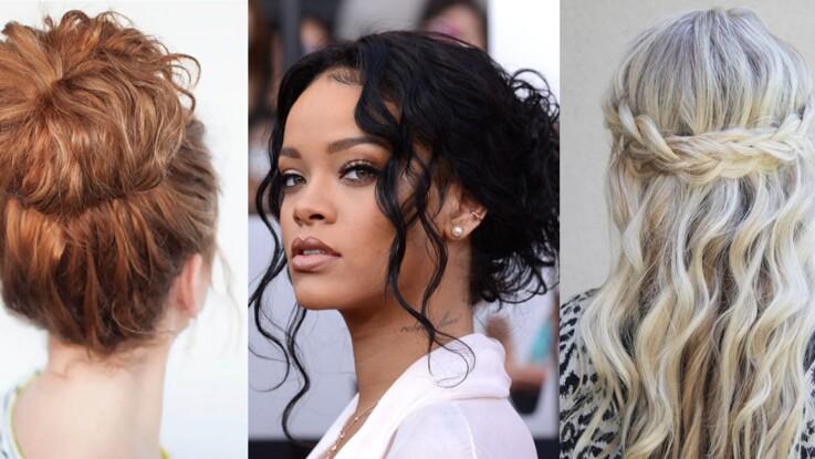 Cheveux bouclés  15 coiffures pour les sublimer