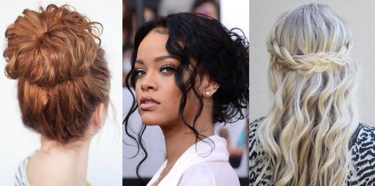 Cheveux bouclés : 15 coiffures pour les sublimer