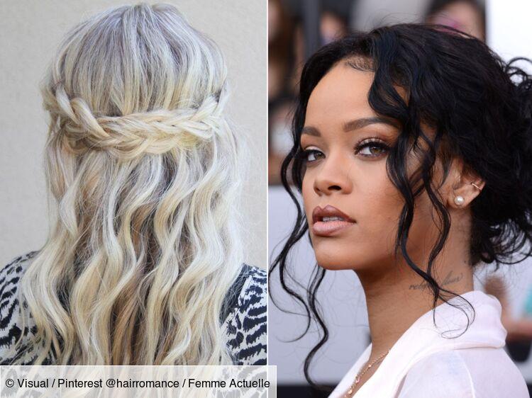 Cheveux Boucles 15 Coiffures Pour Les Sublimer Femme