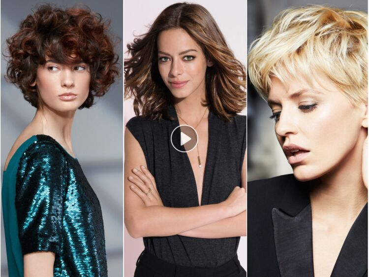 Coupe de cheveux  les tendances de l\u0027automne,hiver 2017,2018  Femme  Actuelle Le MAG