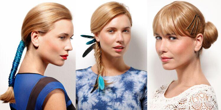 Nos idées de coiffures d'été avec accessoires