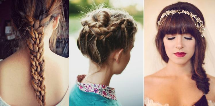 Jolies coiffures romantiques de printemps