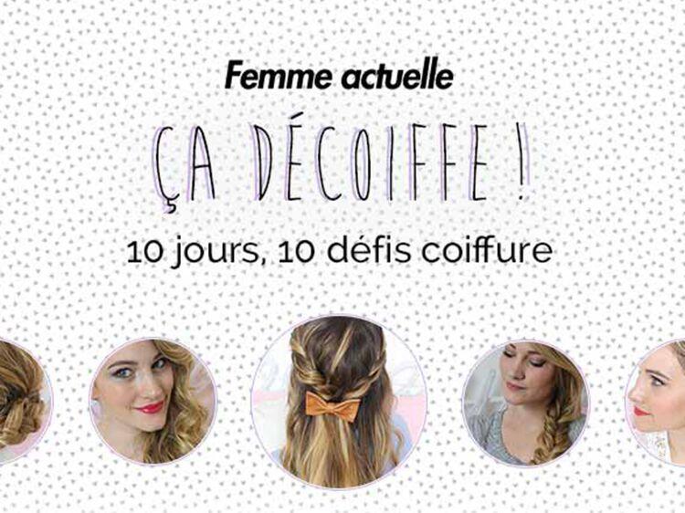 Ca Decoiffe Les Gagnantes Des Defis Coiffure Femme Actuelle Le Mag