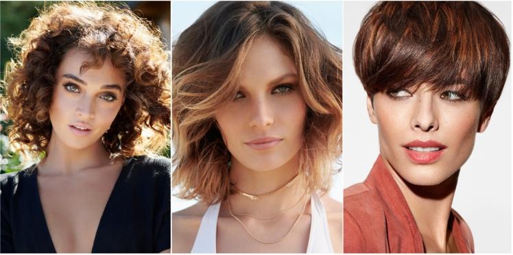 Les tendances coupe de cheveux du printemps-été 2018
