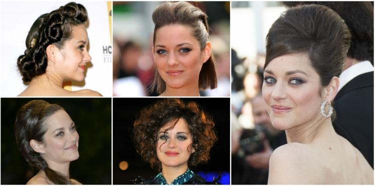 Marion Cotillard : ses coiffures spectaculaires sur tapis rouge