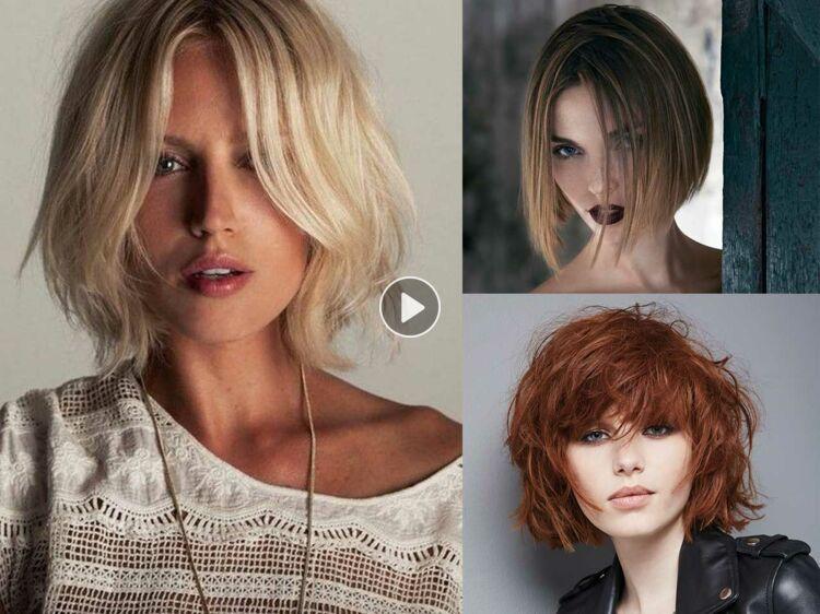 Quelles coupes et coiffures pour un visage long ?  Femme Actuelle Le MAG