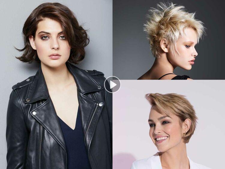 Quelles coupes et coiffures pour un visage rond ?  Femme Actuelle Le MAG