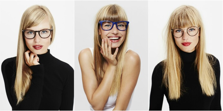 Quelles lunettes pour ma coupe de cheveux     Femme Actuelle Le MAG a574a2979286