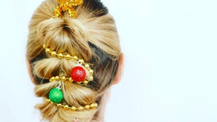 VIDÉO - Répérée sur les réseaux : la tendance coiffure #christmastreehair