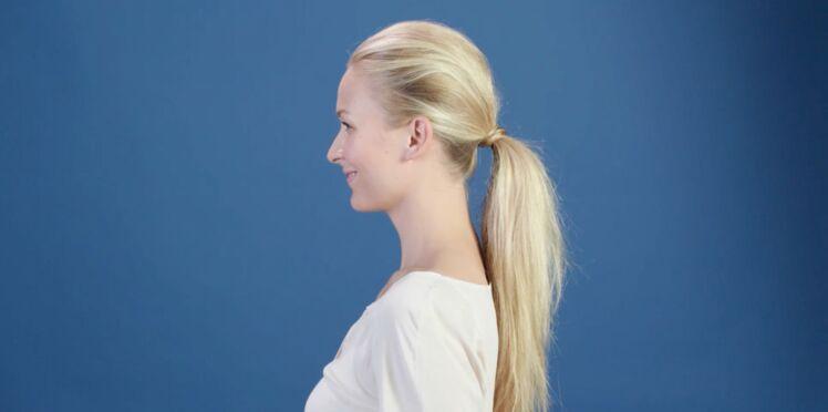 Tuto coiffure : la queue-de-cheval volumineuse (vidéo)