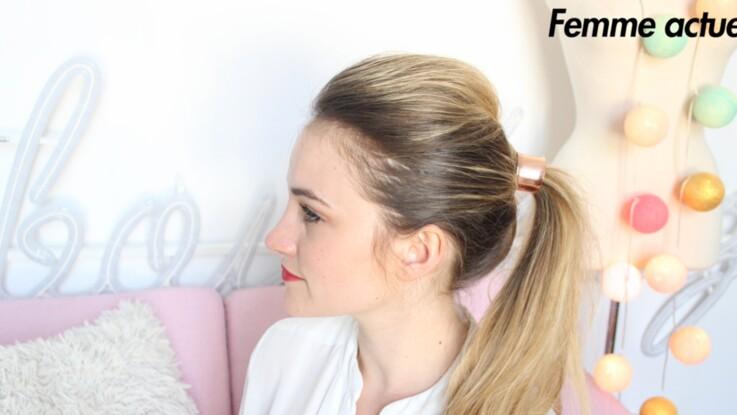 Tutoriel coiffure : un look rock express