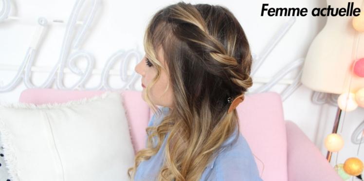 Tutoriel coiffure : la couronne twistée