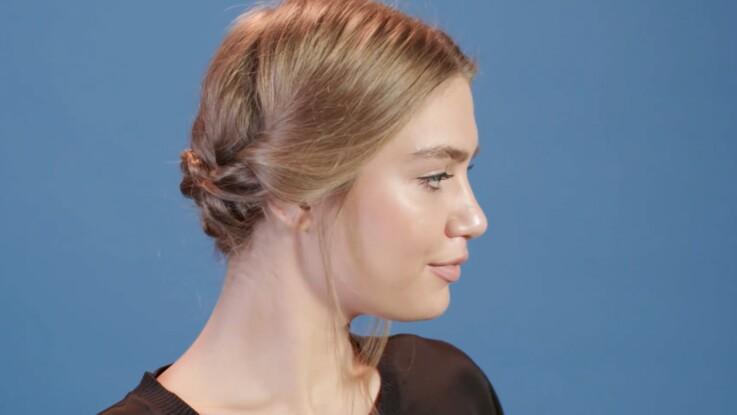 Tutoriel coiffure : le chignon express (vidéo)