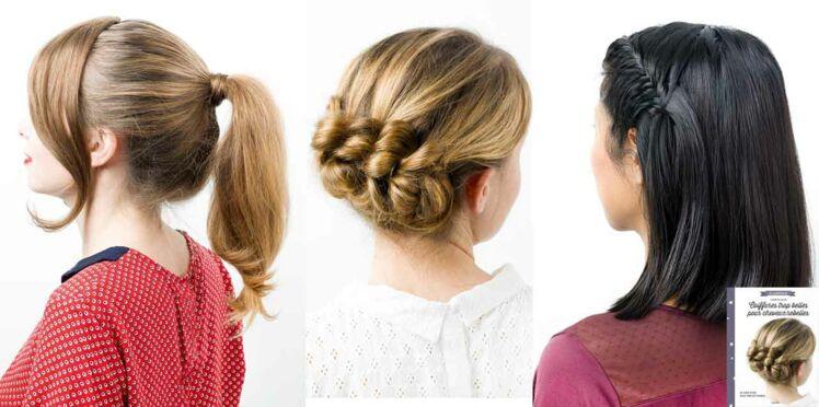 3 coiffures trop belles step by step