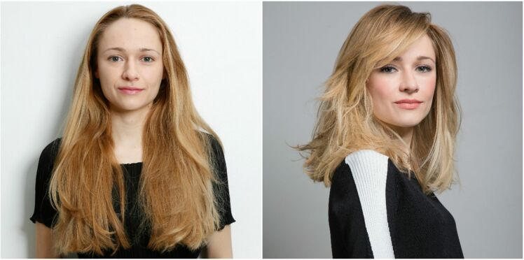 Relooking coiffure : un carré long sexy pour Clara