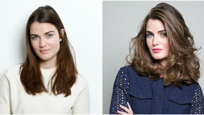 Relooking coiffure : un mi-long glamour pour Camille