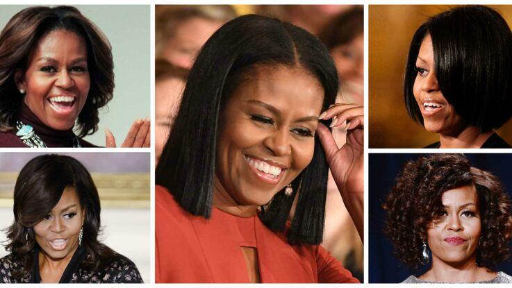 Vidéo - Retour sur les 15 looks coiffure de Michelle Obama