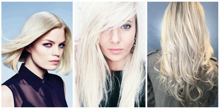 Blond polaire : la tendance cheveux à découvrir