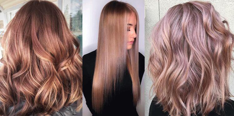Blond fraise, la coloration branchée de la saison