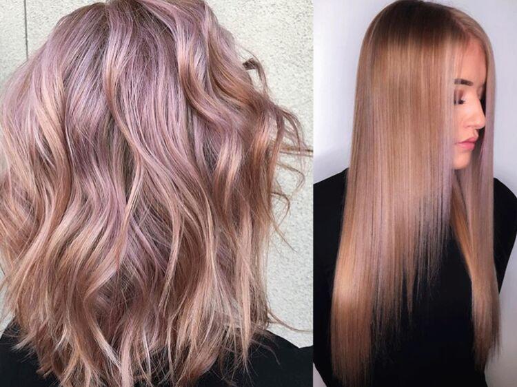Couleur de cheveux blonde