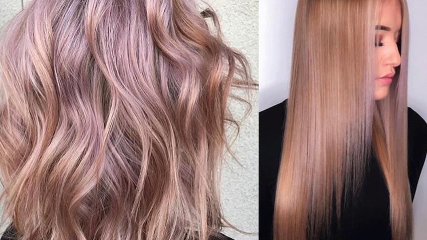 Blond fraise : la coloration branchée de l'automne