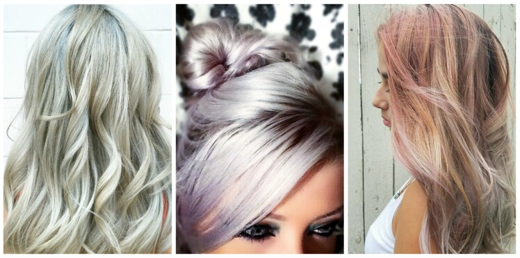 Coloration blond pearl, la tendance cheveux pastel
