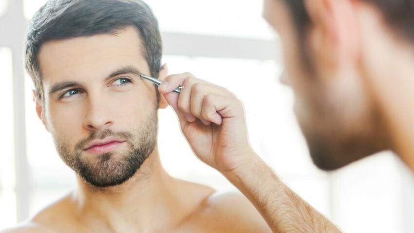 Epilation homme : se faire épiler les sourcils