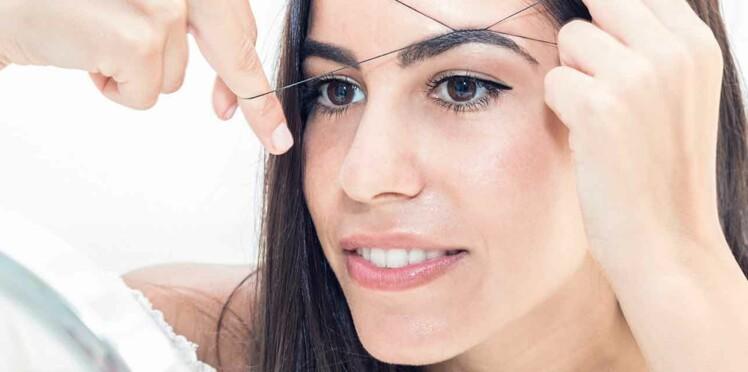 Epilation des sourcils au fil, comment ça marche ?