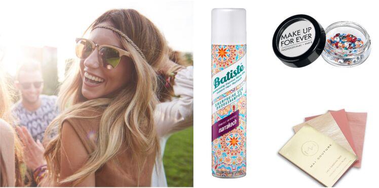 10 produits beauté à emporter en festival cet été