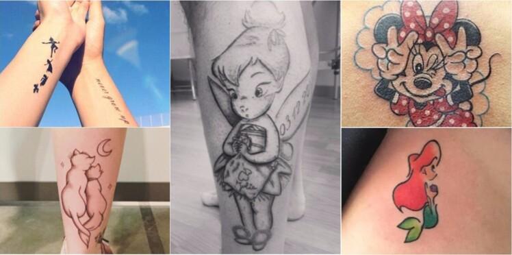 15 Tatouages Inspires Des Personnages De Disney Reperes Sur