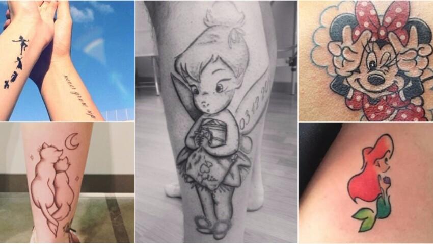15 tatouages inspirés des personnages de Disney repérés sur Instagram