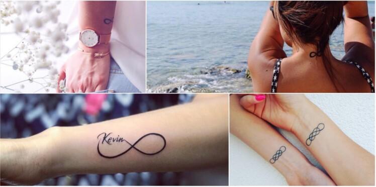 20 Tatouages Infini Vraiment Canons Reperes Sur Instagram Femme