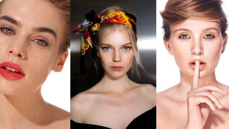Coiffure et make-up : osez la couleur